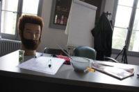 Salon pédagogique du centre de formation en coiffure Roger Para à Marseille