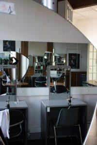 Salon pédagogique du centre de formation en coiffure Roger Para