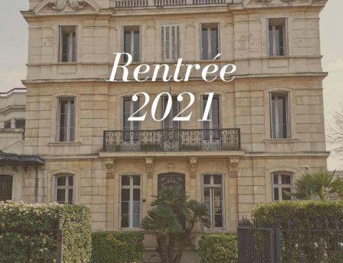 Dates de rentrée 2021