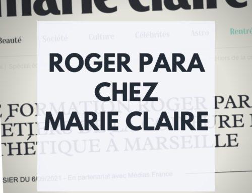 Roger Para chez Marie Claire